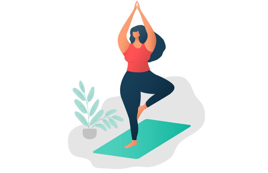 yoga plus size